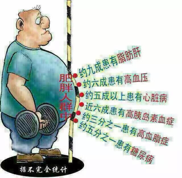 肥胖隱藏的危機
