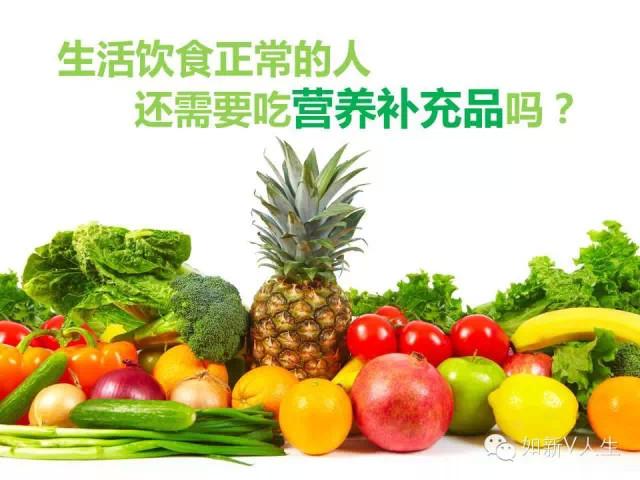 NU Knowledge | 生活饮食正常的人还需要吃营养补充品吗?