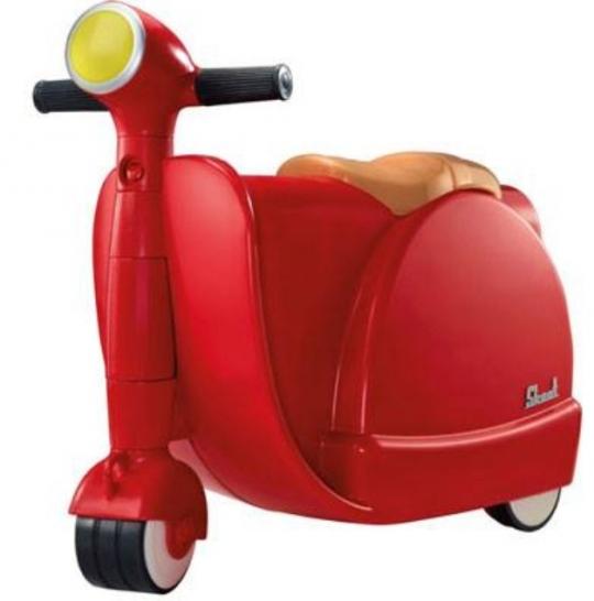 英國Skoot case 兒童摩托車造型玩具/行李箱
